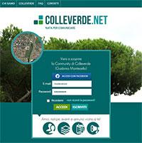 Colleverde.net - Nata per Comunicare